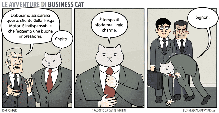 business cat #3