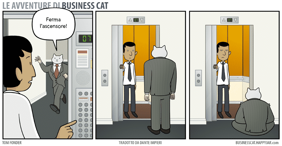 business cat #4